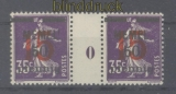 Memel Mi #  48 ZW postfrisch waagerechtes Zwischenstegpaar (47649)
