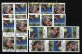 UNO Wien Mi # 746/47 postfrisch Autismus kplt. Zusammendruckkombinationen(30818)