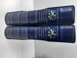 Deutsche Post 2 leere Ringbinder mit Kassette Weg zum Euro auf Briefmarke(47923)