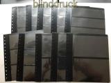 Leuchtturm 10 verschiedene G-Tafeln schwarz gebraucht (48019)