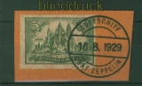 dt. Reich Mi # 367 gestempelt 5 Mark Bauwerke Zeppelinstempel (48085)