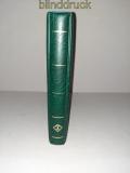 Leuchtturm grüner Optima Ringbinder mit 18 Hüllen gebraucht (50504)