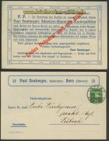 Schweiz Privat-GSK Fa. Heuberger Bern 1910 (22063)