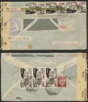 Mocambique Auslands-LuPo-Zensur-Brief 1947 (21939)
