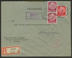 Dt. Reich Landpoststempel Kreitlapperei Norden (22188)
