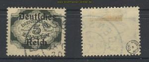 dt. Reich Dienst Mi #  51 gestempelt geprüft (22241)