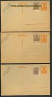 Dt. Reich 3 GSK Magistrat Berlin mit Perfin unge(22158)