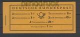 Bund Markenheftchen Mi # 4 Y II postfrisch  (21853)