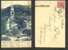 Bad Herrenalb sw-AK Klosterruine Paradies 1901 (d2645)