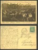 Baden-Baden sw-AK Blick gegen Lichtetal 1925 (d3093)