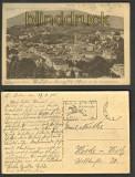 Baden-Baden sw-AK Blick v d Ebersteinstrasse1925(d3100)