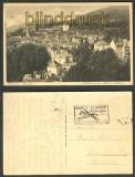 Baden-Baden sw-AK Blick zum neuen Schloß 1930 (d3108)