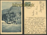 Bodenschneid-Haus sw-AK 1923 (d3120)