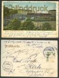 Berlin farb-AK Hochbahn am Wasserthor 1905 (d3152)