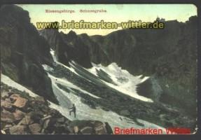 Schlesien farb-AK Schneegrube Riesengebirge ung (d1560)