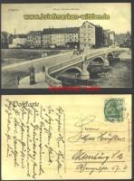 Liegnitz sw-AK Kaiser-Friedrich-Brücke 1903 (d1572)