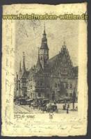 Breslau sw-AK Rathaus 1908 (d1956)