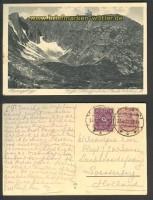 Riesengebirge sw-AK Gr. Schneegrube mit Baude 22(d2998)
