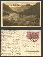 Riesengebirge sw-AK Partie im Riesengrund 1922 (d2999)