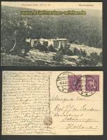 Riesengebirge sw-AK neue schlesische Baude 1922 (d3001)