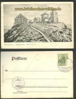 Riesengebirge sw-AK Koppenhäuser 1905 (d3463)