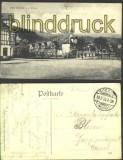 Bad Sooden sw-AK Platz mit Kirche 1910 (d1082)