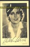 Charlotte Sousa sw-Foto-Autogammkarte Schauspiel(d1121)