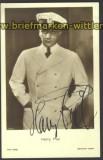 Harry Piel sw-Foto-Autogramm-Karte Regisseur+Sch(d1122)