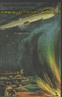Zeppelin farb-AK engl. Küste Nachdruck  (d1068)
