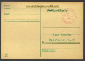 Velten bei Berlin Gebühr-bezahlt Blankokarte  (17252)