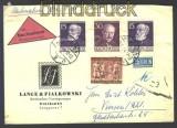 Berlin 2 x Mi # 96 + 98 + 125 N-Brief Wiesbaden (16686)