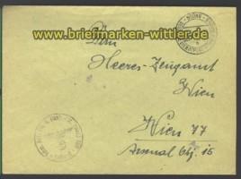 DDP B & M Fernbrief Brünn 21.2.1944 nach Wien (15807)