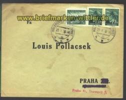 B & M Eilboten-R-Brief Mitläufer Malenovice  (15810)
