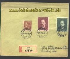 B & M  R-Brief Prag 16.5.1944  (15813)