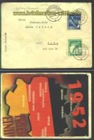 DDR Mi # 298/99 FDC Wolgast12.1.1952 (15150)