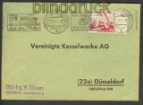 DDR Mi # 282 EF auf Fernbrief Halle 60,00 Euro (17777)