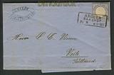 dt. Reich EF Mi # 20 31.8.1874 nach Dänemark  (18169)