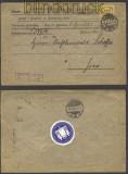 dt Reich Mi # D 6 EF Orts-Zustellungsurkunde (14393)