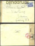 dt. Reich Mi # 742 EF Auslands-Zensur-Brief 1940(11852)