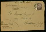 dt. Reich Mi # 486 EF Auslandsstreifband USA  (14354)