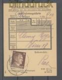 dt. Reich Mi # 787 EF Einlieferungsschein für ein Paket (45735)
