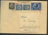 dt. Reich Mi # 820 III MiF Fernbrief Bahnpost  (20927)