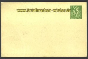 dt. Reich Privat GSK Frech # PP 63 A 1 ungebrau (14864)