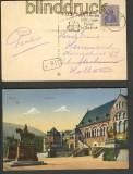dt Reich farb-AK Werbe-Stempel 1000 Jahrfeier 22(17882)
