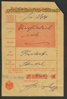 dt. Reich CALBE an der Milde Posteinlieferungssc(20483)