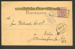 dt. Reich  GSK Neudeck Bz. Oppeln 13.7.1879 (20710)