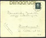 dt. Reich Mi # 415 EF Auslandsbrief Ungarn  (14350)