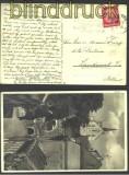 dt. Reich Mi # 470 EF Auslandspostkarte 1933 (14352)