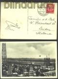 dt. Reich Mi # 470 EF Auslandspostkarte 1933 (14353)