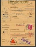 dt. Reich kl. Lot von 10 Paketkarten ca. 1930   (21037)